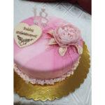 Fényes Cukrászda által készített születésnapi torta.