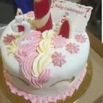 Fényes Cukrászda által készített unikornis torta.