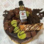 Fényes Cukrászda által készített Jim Beam torta.