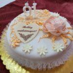 Fényes Cukrászda által készített szülinapi torta.