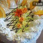 Fényes Cukrászda tortája.